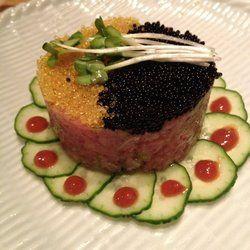 Tuna tartare at Sakagura NYC