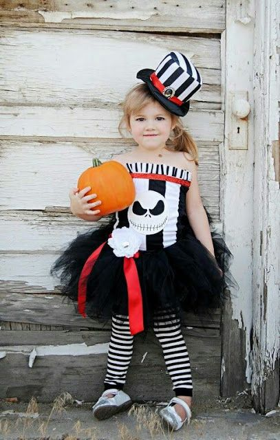 TUTÚS TAMBIÉN EN HALLOWEEN DIY Mami a la Moda Buena idea - toddler girl halloween costume ideas