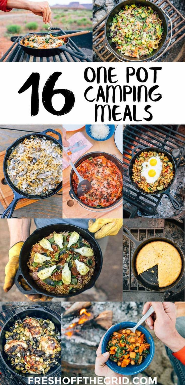 Easy To Cook And Clean These One Pot Camping Meals Recipes Are Perfect Your Next Campout Lots Of Great Food Ideas