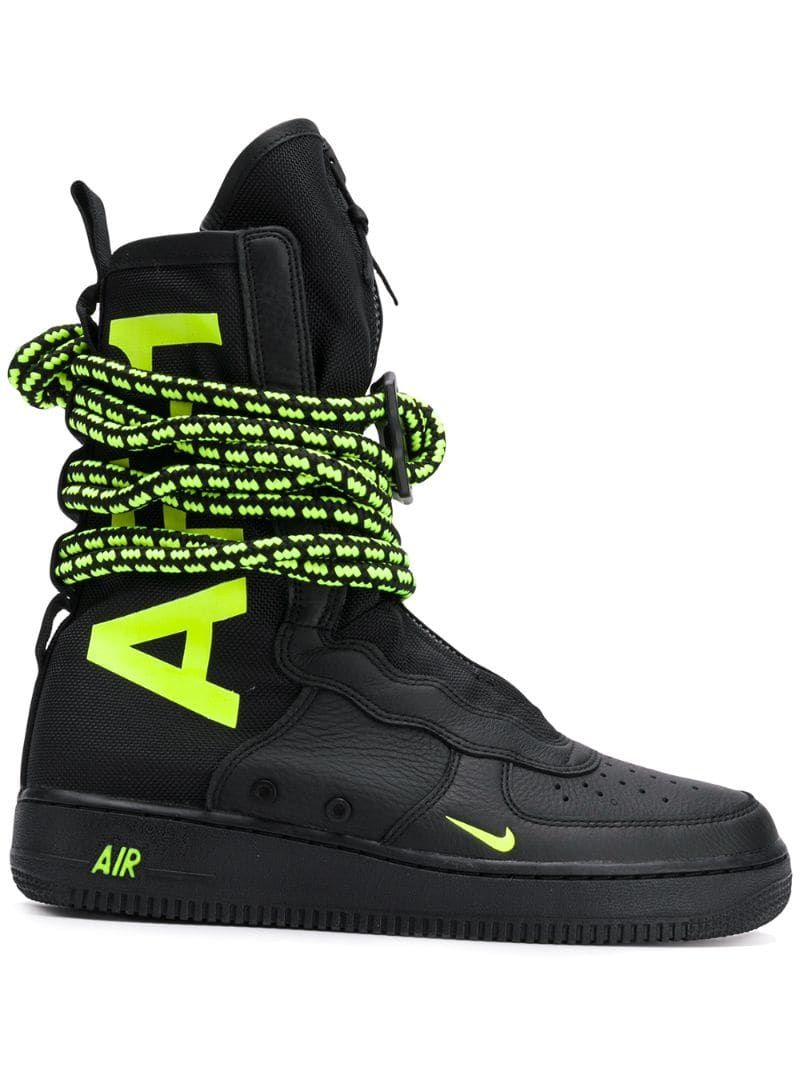 Nike Special Field Air Force 1 High Sneakers Black With Images