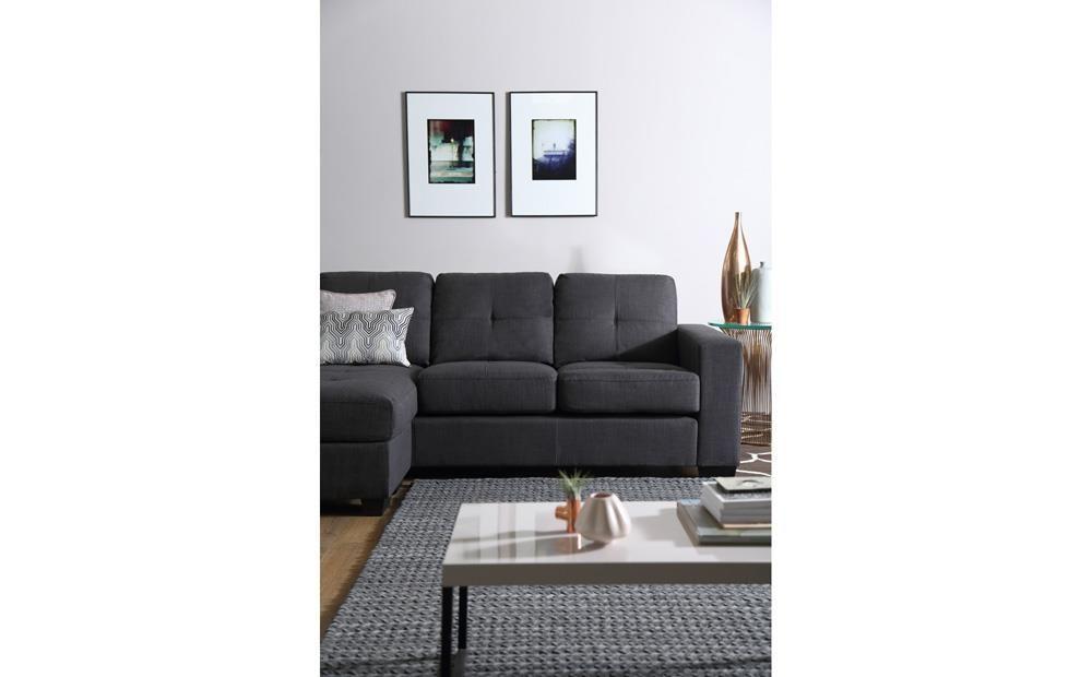 Rio Slate Grey Fabric L Shape Corner Sofa Furniture Choice Furniture Choice Corner Sofa Sofa