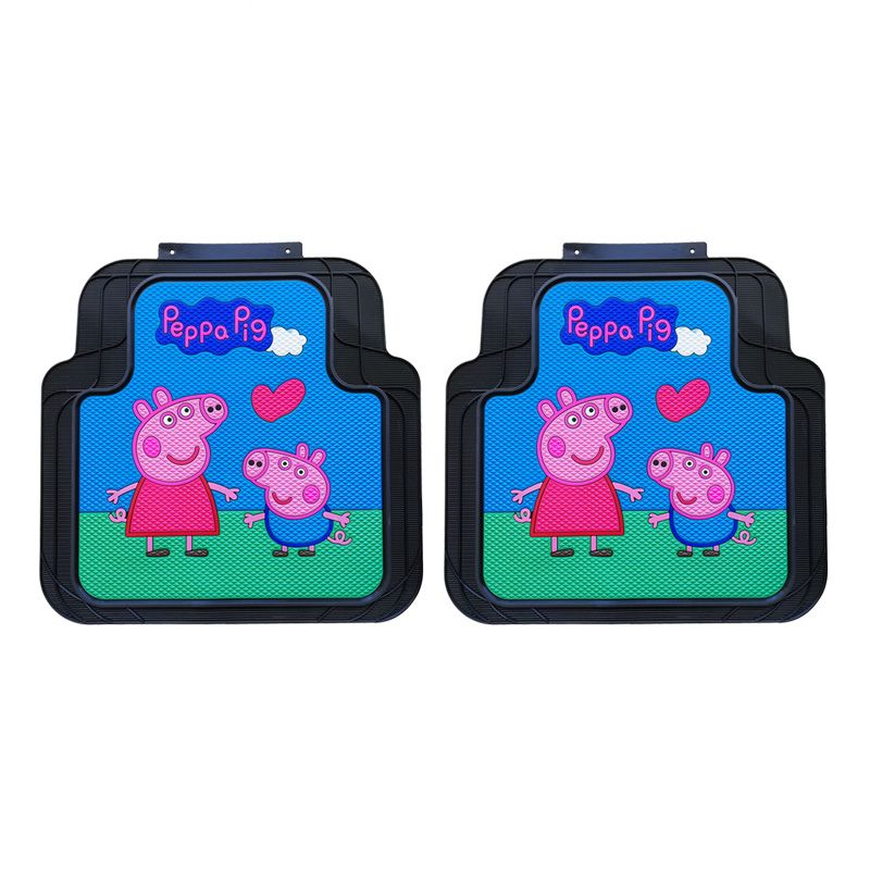 Vinyl Floor Mat Durable Soft And Easy To Clean Ideal: $87.12 Peppa Pig Universal Automotive Carpet Car Floor