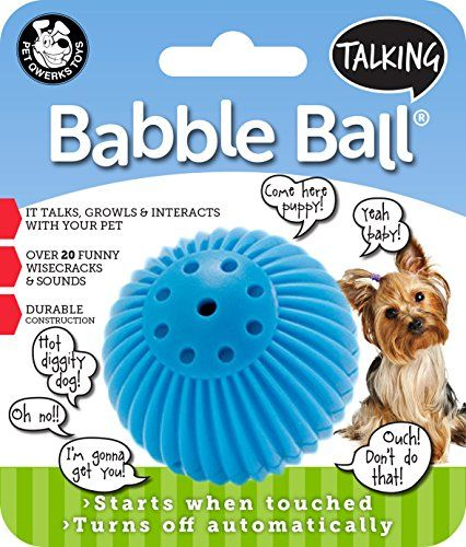 Dog Toy Balls Pet Qwerks Talking Babble Ball Dog Toy Check