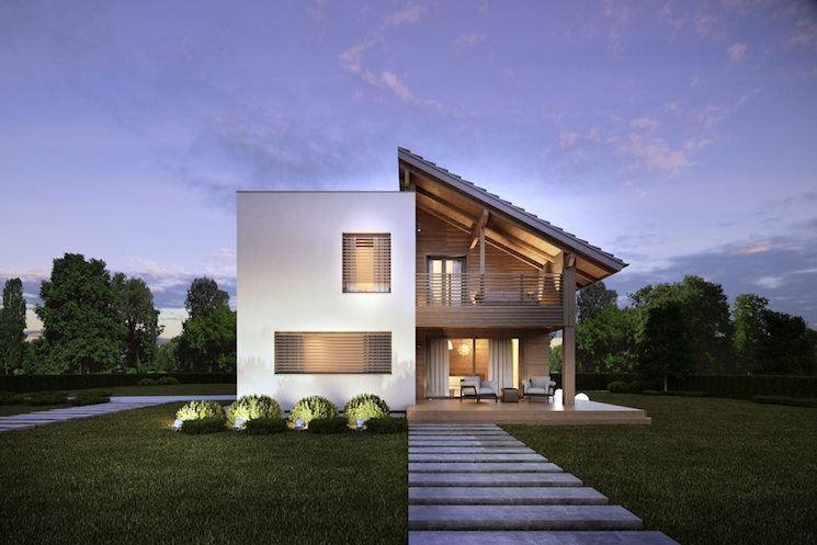 Quanto costa una casa in legno rubner casette nel 2019 house styles house e home decor - Quanto costa una casa prefabbricata in legno ...