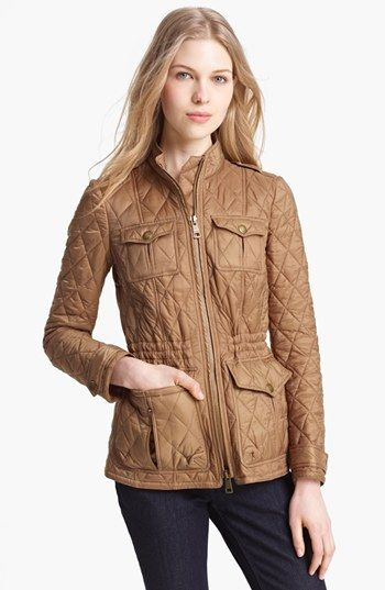 Burberry Brit 'Ravenfield' Quilted Jacket | Nordstrom | Идеи для ... : nordstrom burberry quilted jacket - Adamdwight.com