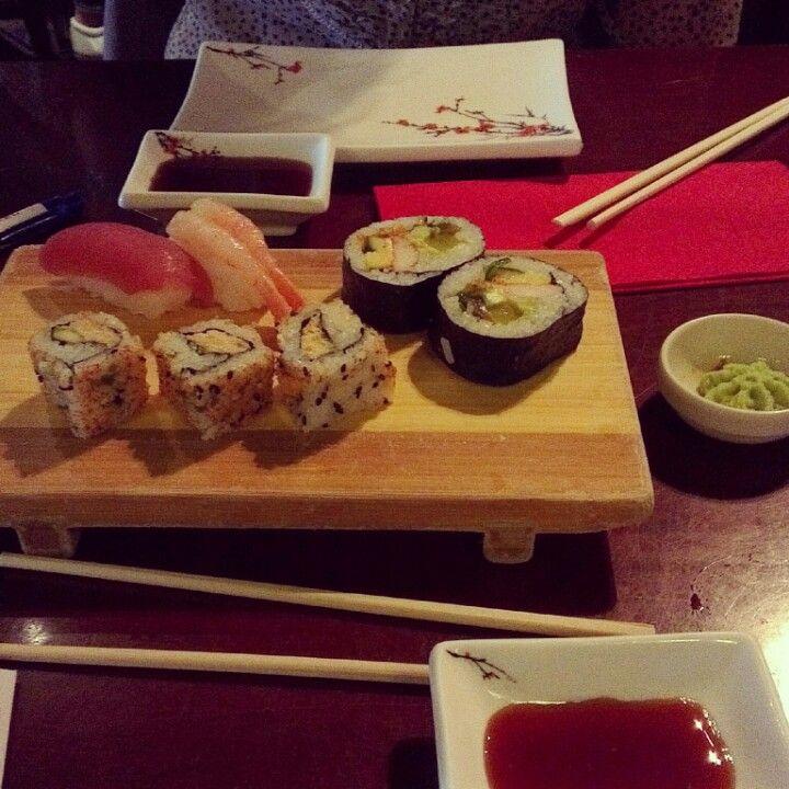 Sushi at Shabu Shabu, Rotterdam