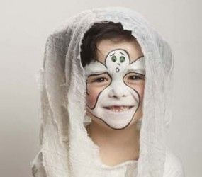 Halloween Face Painting: Ghoulish Ghost