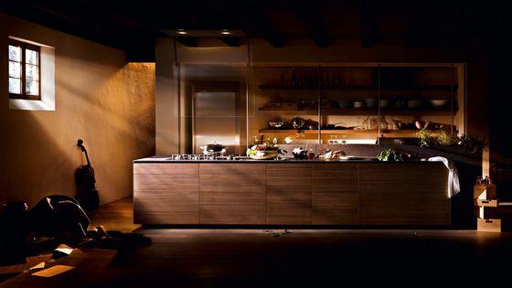 Cucine a parete | Cucine componibili | Artematica Noce Tattile. Check it out on Architonic
