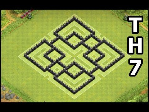 Best Clash Of Clans Th7 Farming Base Town Hall 7 Defense Design By Gamedicehd Tata Letak