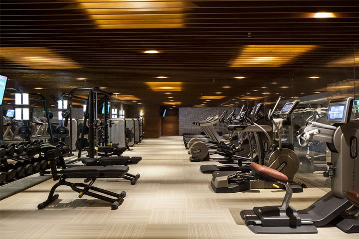 Ritz carlton tian jin gym fitness pinterest