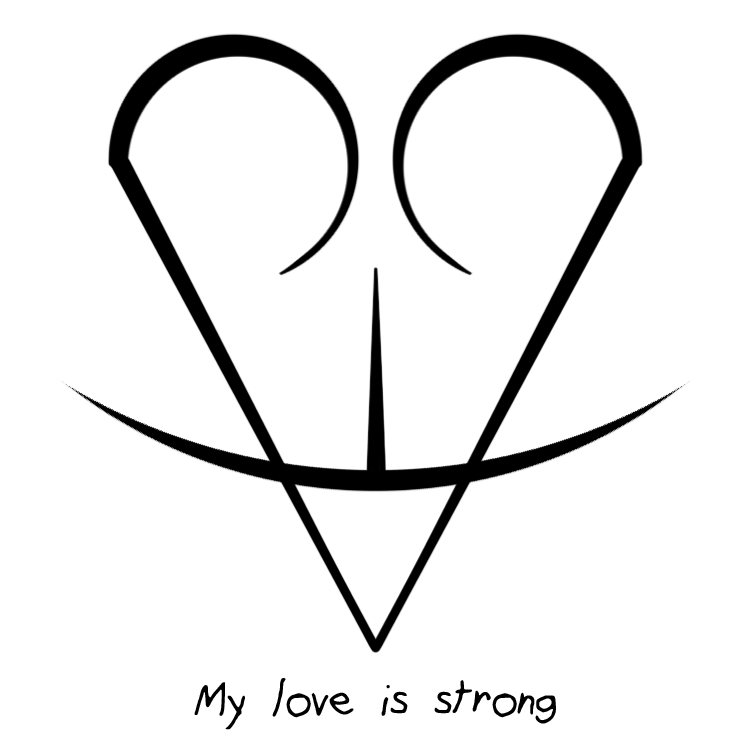 Sigil Athenaeum My Love Is Strong Sigil Requested By