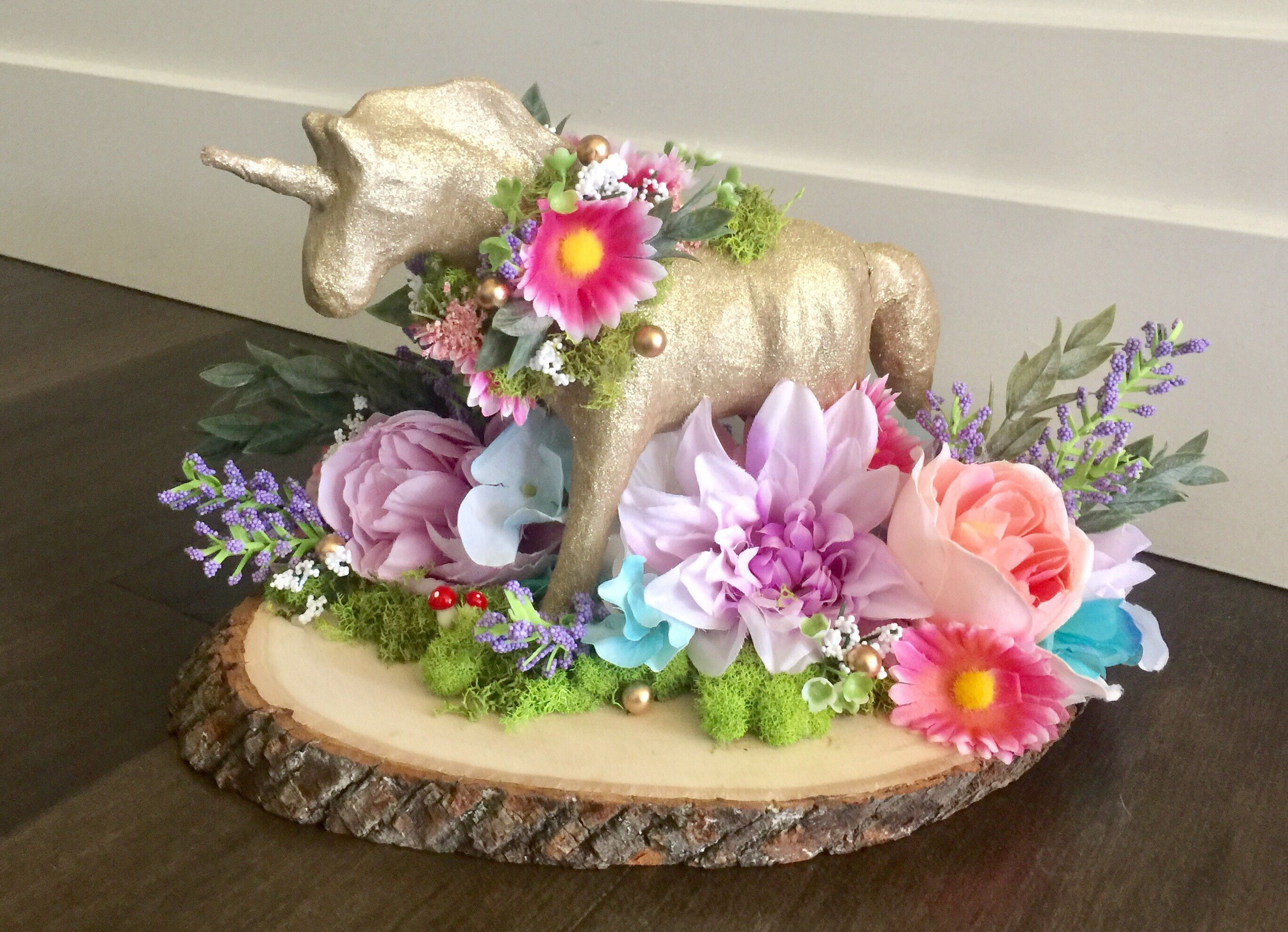 Unicorn Party Centerpiece baby shower birthday party Boho