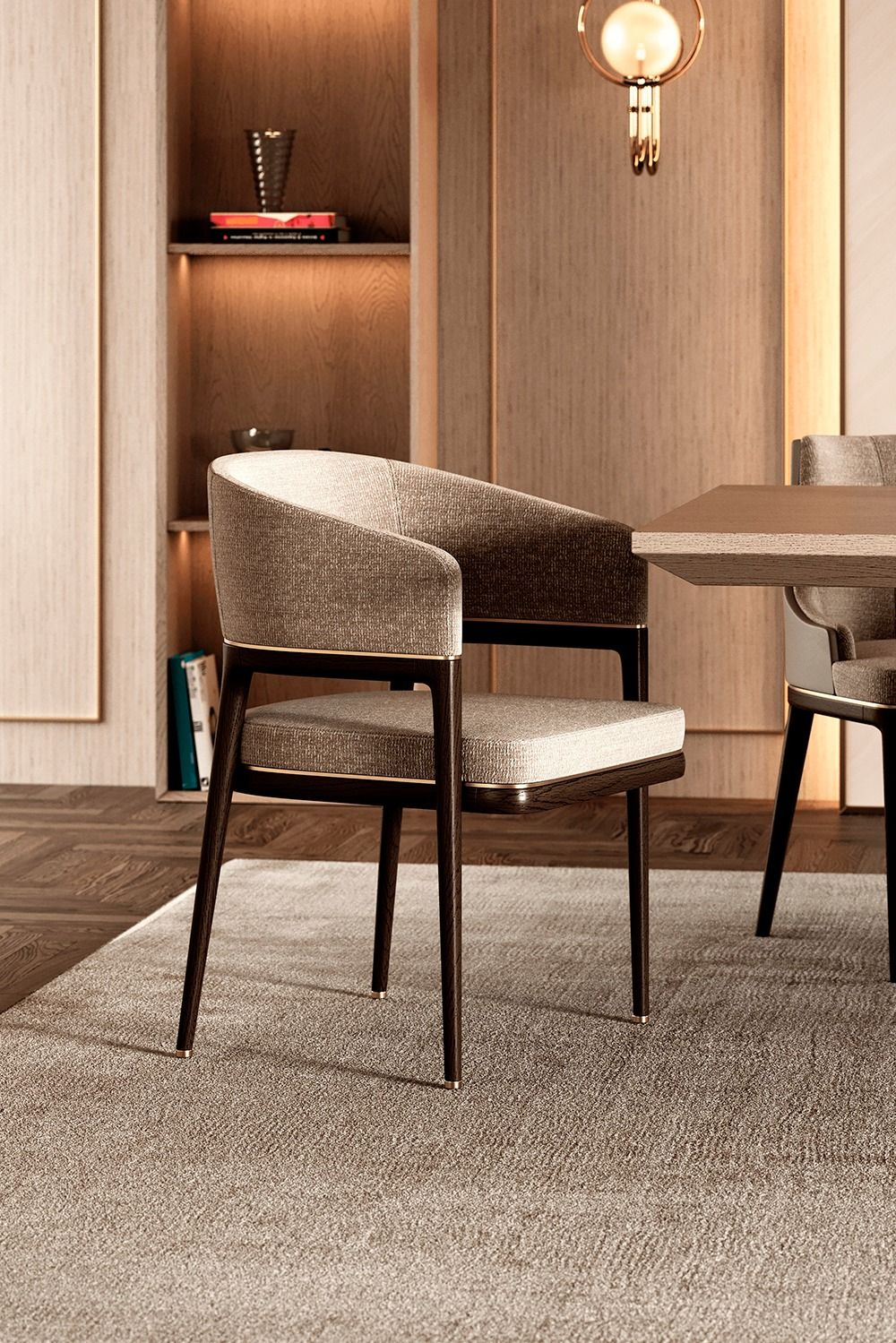 Mark Dining Chair By Aster.  #aster #boundlessexpressions #interiorismo #interior #luxurydesign #luxuryinteriordesign #luxury #modernarchitecture #interiordesigner #interior4all #designproject #homeinteriors #homedecor #interiors #interiordecor #homefurniture #interiodesignproject #contemporarystyle #luxuryliving #contemporaryfurniture #interiordesign #designlover #furniture #timelessdesign #designproduct #furnituredesign #luxuryupholstery #diningchair #upholstery #diningroomdecor