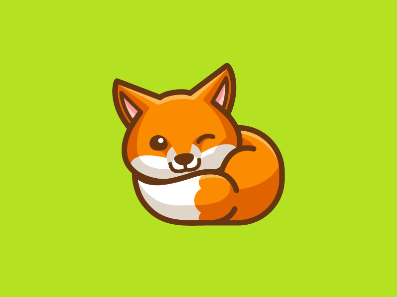 Little Fox | Cute fox drawing, Fox character, Fox drawing