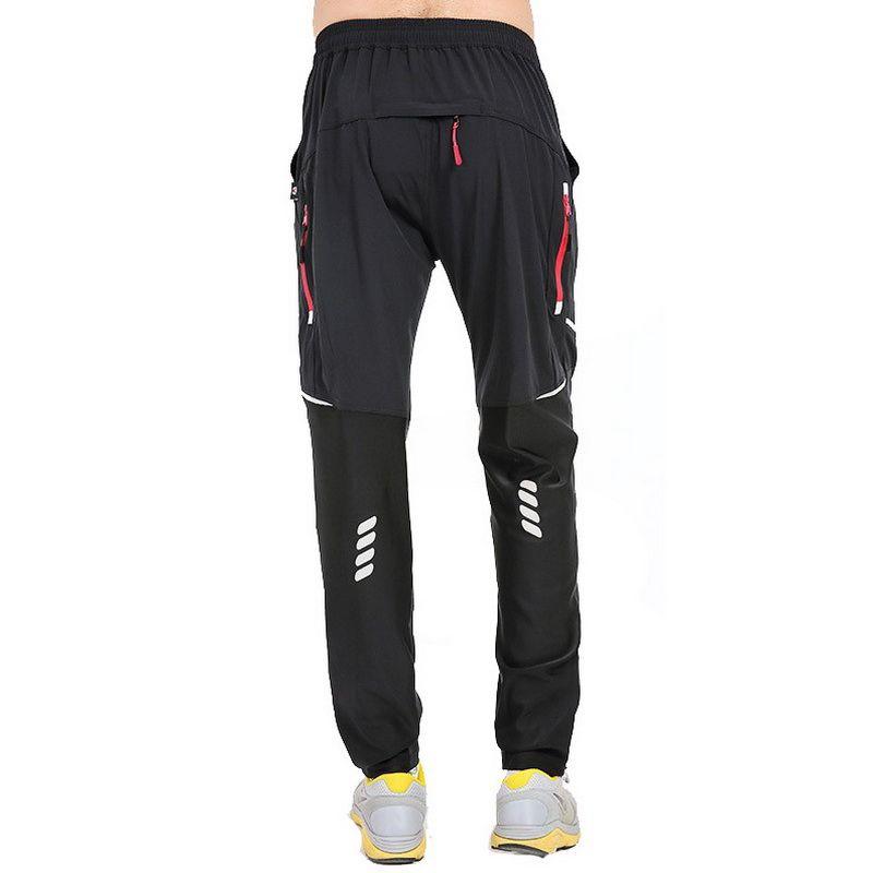 Hajotrawa Mens Vogue Drawstring Elastic Waist Active Trousers Camouflage Joggers Pants