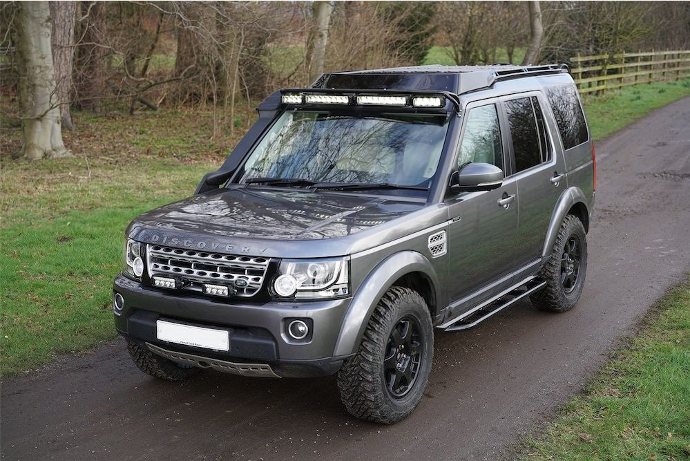 prospeed discovery 4 build explore  land rovers and cars