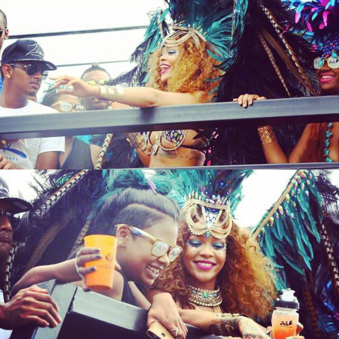 Carnival in Barbados!