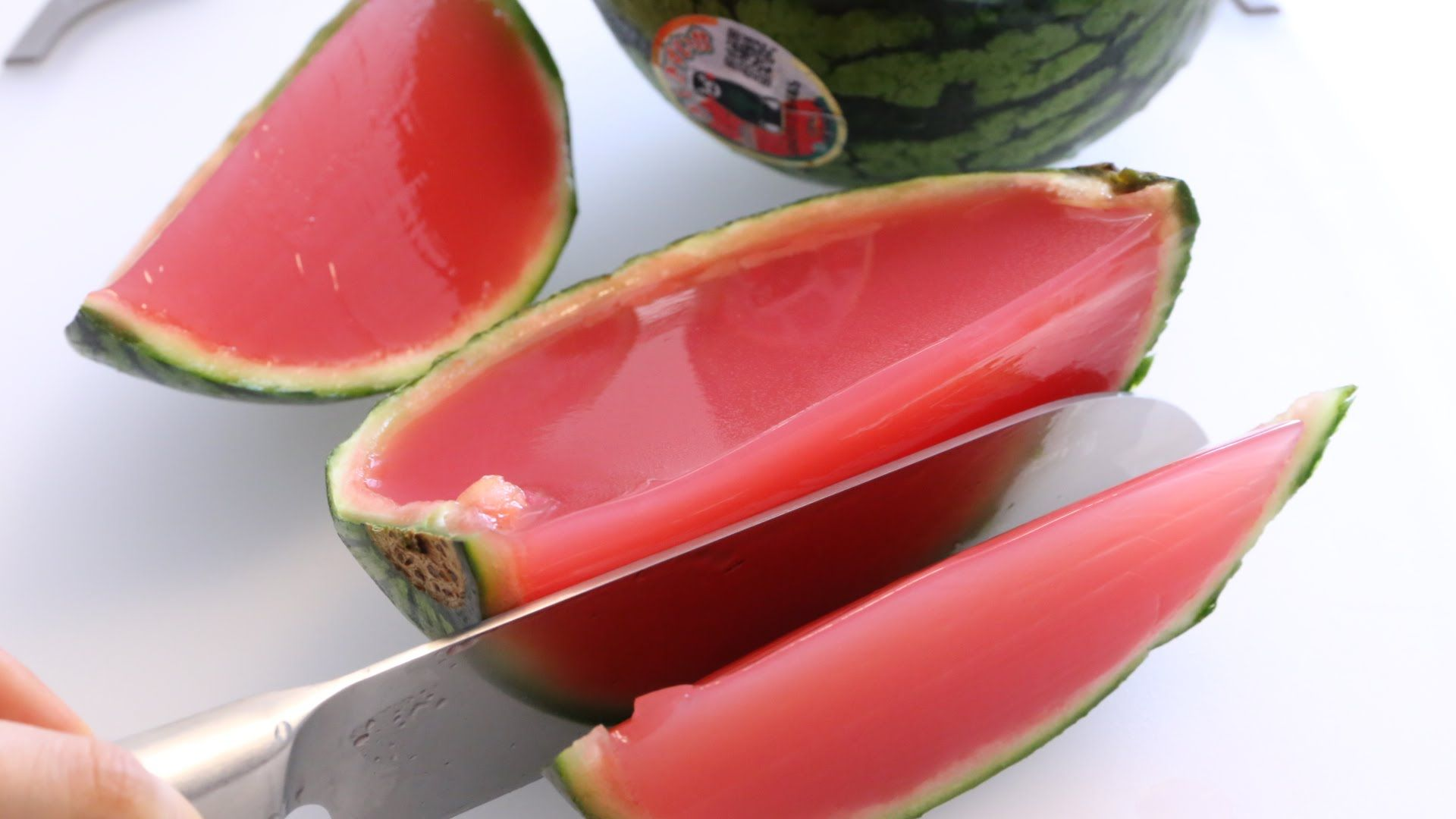 Watermelon Jelly Cake Recipe: Giant Jello Shot I Made Whole Watermelon Jelly! Thank You