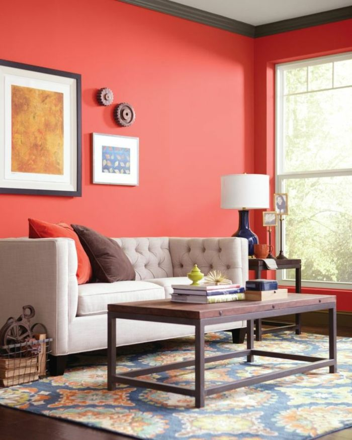 Farbgestaltung Schlafzimmer Wandgestaltung Wanddesign Grün