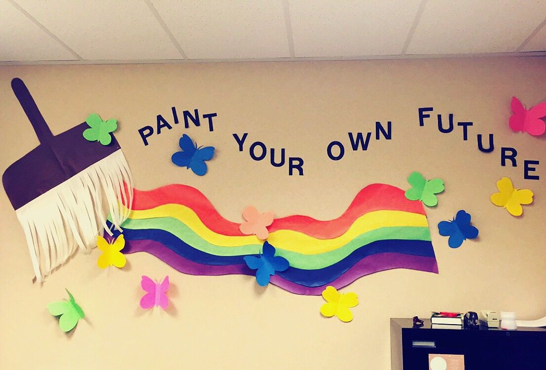 School wall decorations | School ideas | Pinterest | School wall ...