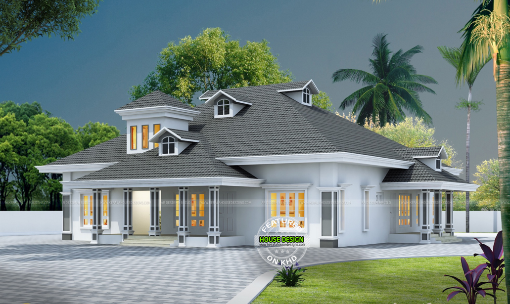 Bon Wonderful Contemporary Inspired Kerala Home Design Plans