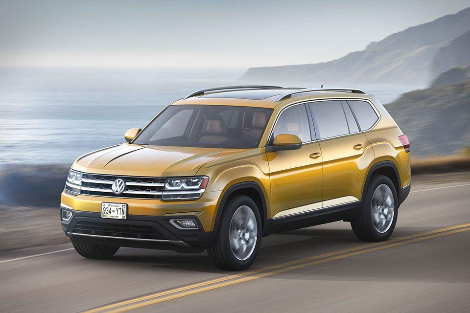 Volkswagen Atlas Suv Volkswagen Suv Sport Utility Vehicle