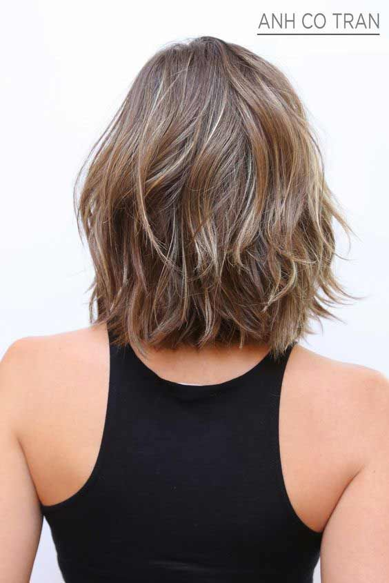 Frizzy Asymmetrical Indian Hairstyle For Short Hair Indian Hairstyles Short Hair Styles Haircuts For Frizzy Hair