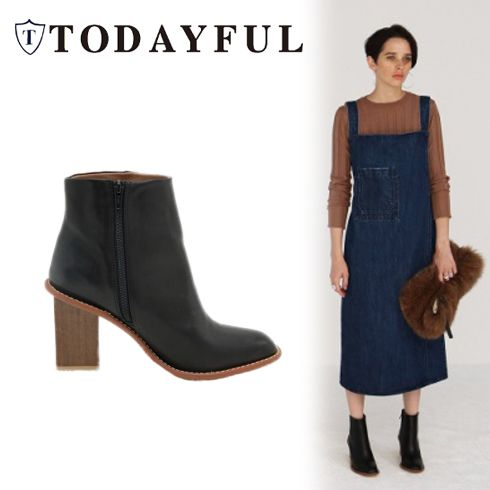 TODAYFUL(トゥデイフル) Short Boots 16秋冬.予約【11621038】 SOLDOUT   BLK 36	45,360円