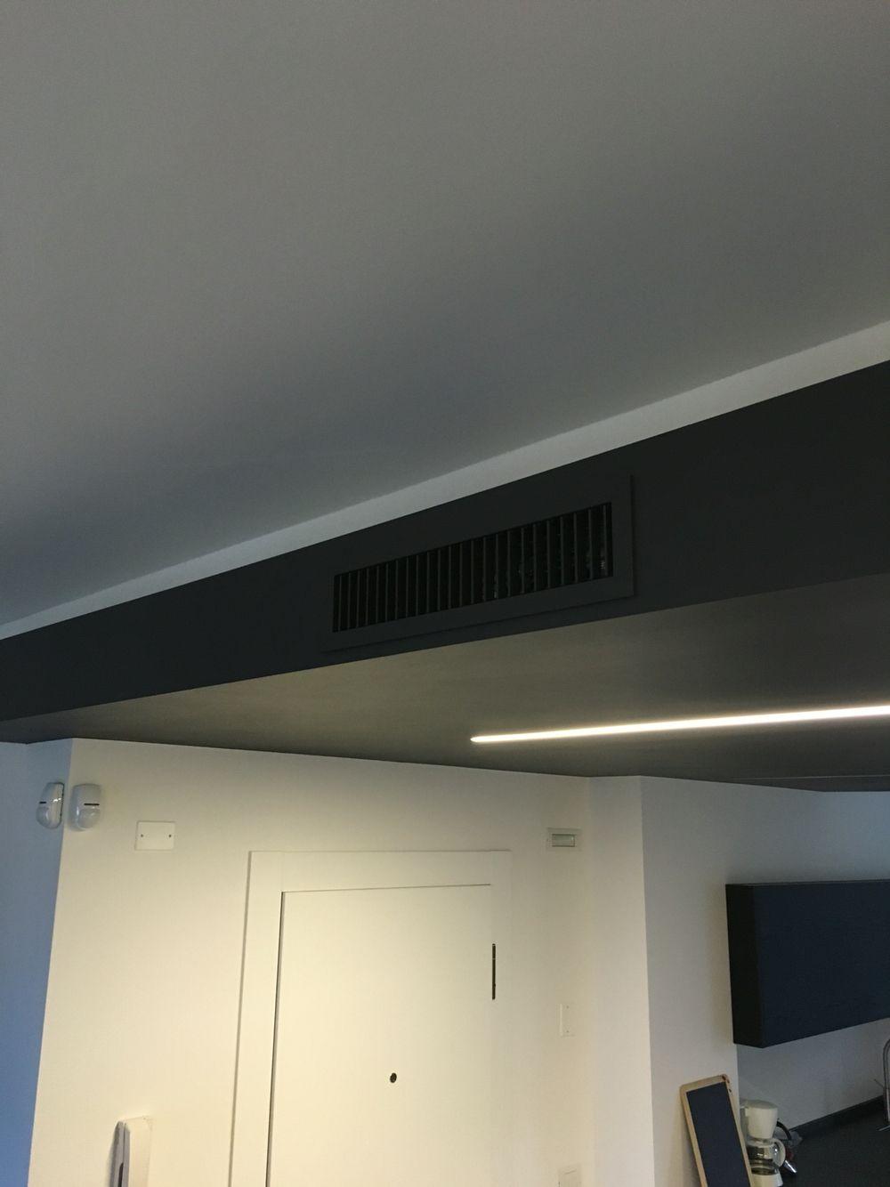 Impianto di condizionamento canalizzato bocchetta aria - Impianto condizionamento canalizzato ...