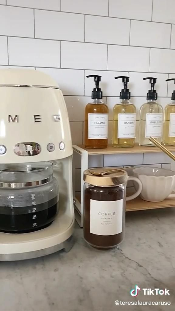 How I created an AMAZING coffee bar at home! ☕ #ho