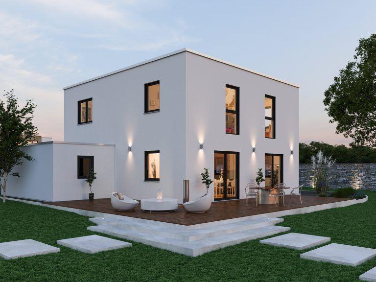 Schlüsselfertiges Massivhaus Spektralhaus: Massivhaus ☆ 2 Geschossig