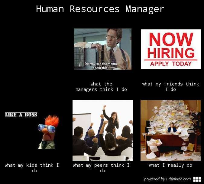 Funny Hr About Friday S: Human Resource Manager