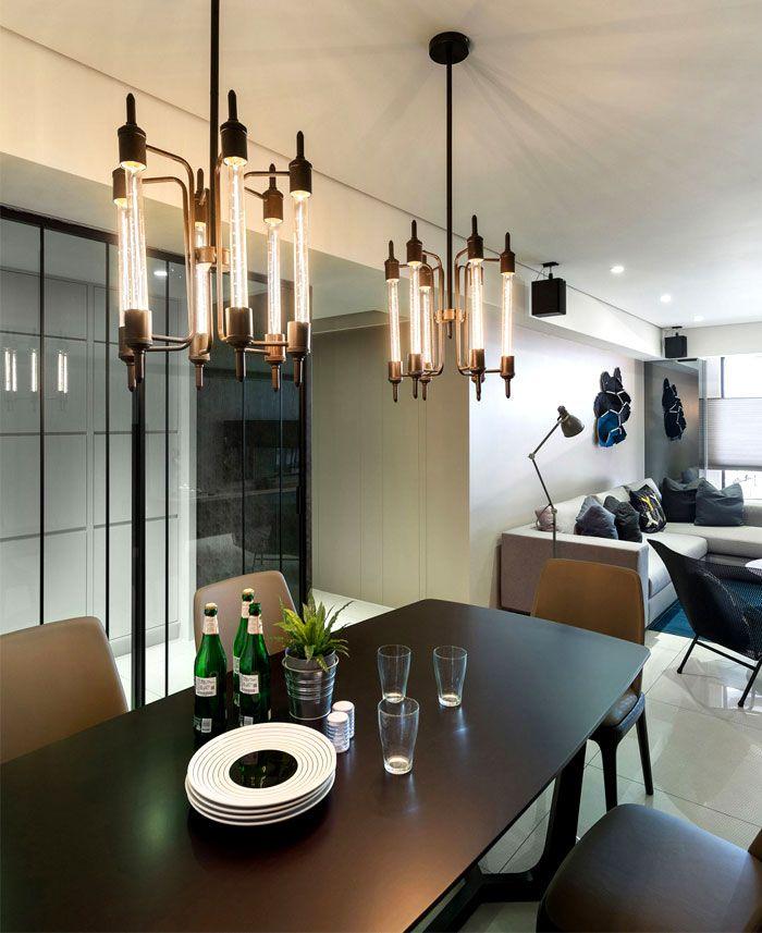 Modern Urban Dwelling by White Interior Design modern urban dwelling 4