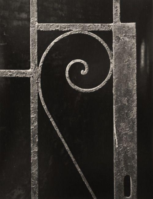 iamjapanese:    Aaron Siskind(American, 1903-1991) Iron Work 6, NYC1947 Gelatin silver print