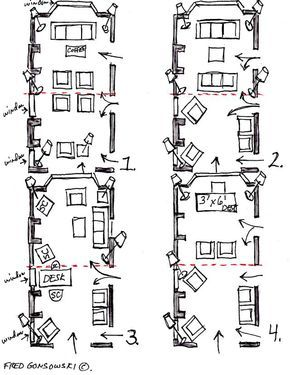 Best 12 Ways To Put Furniture In 12X24 Foot Living Room Long 400 x 300
