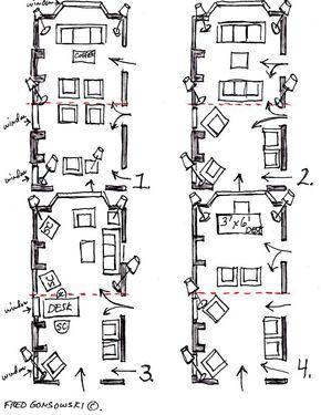 12 Ways To Put Furniture In 12x24 Foot Living Room Livingroom Layout Long Living Room Rectangular Living Rooms