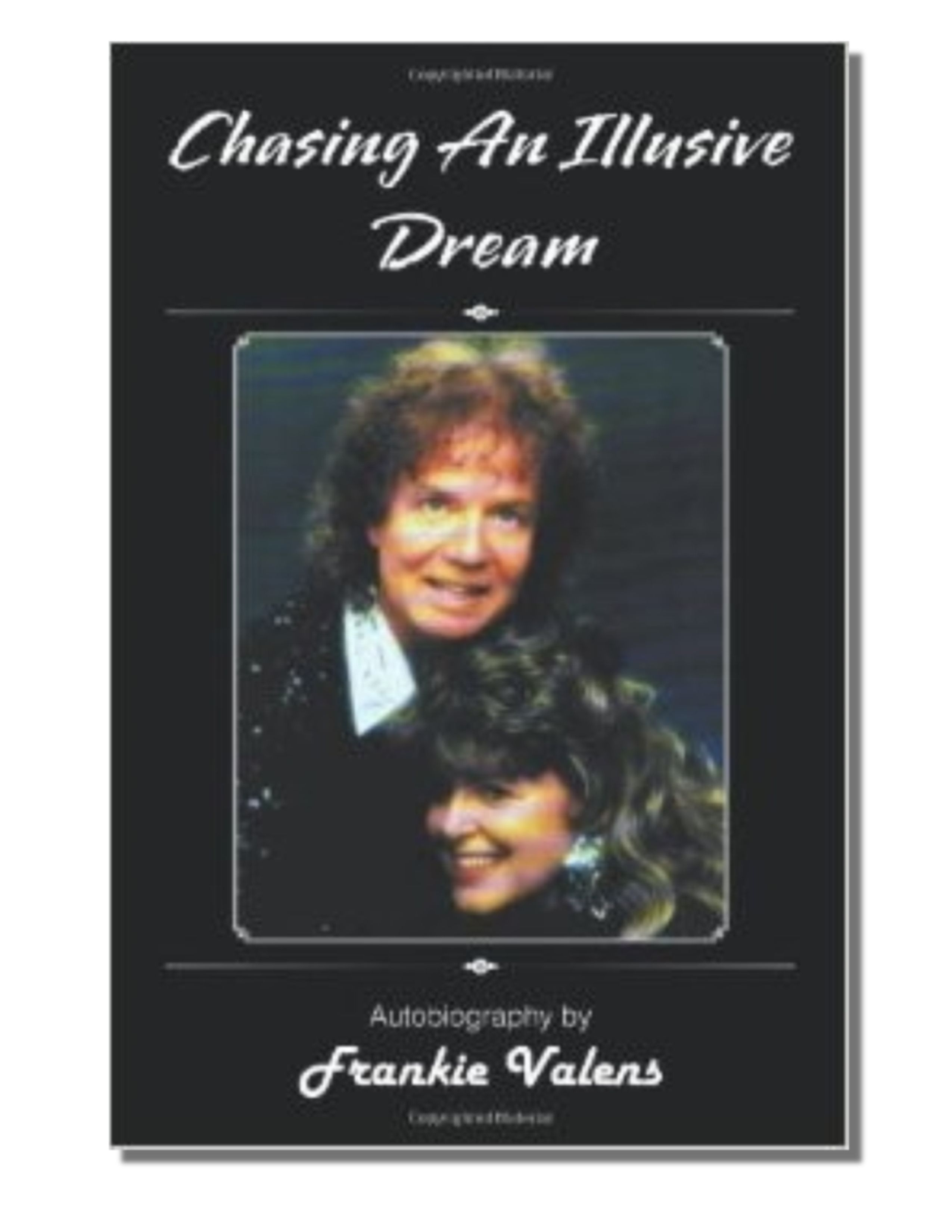 Autobiography by Frankie Valens. Read all about this pop music legend from the 60's! Inspiring story. www.sunnidaiz.com $29.95