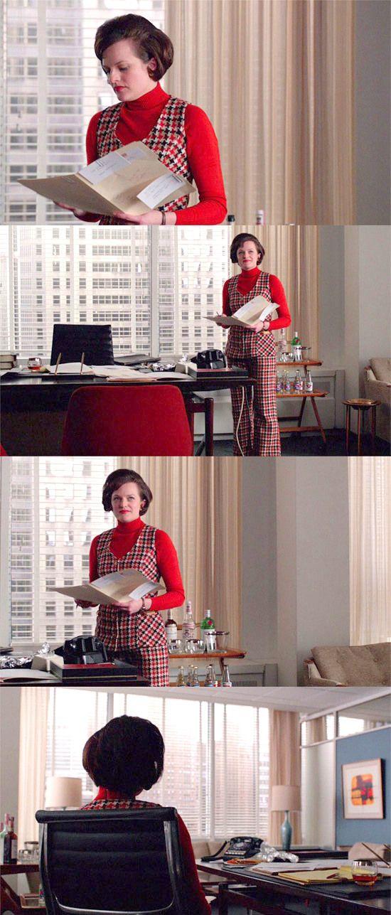 Mad Men Season 6: the pantsuit