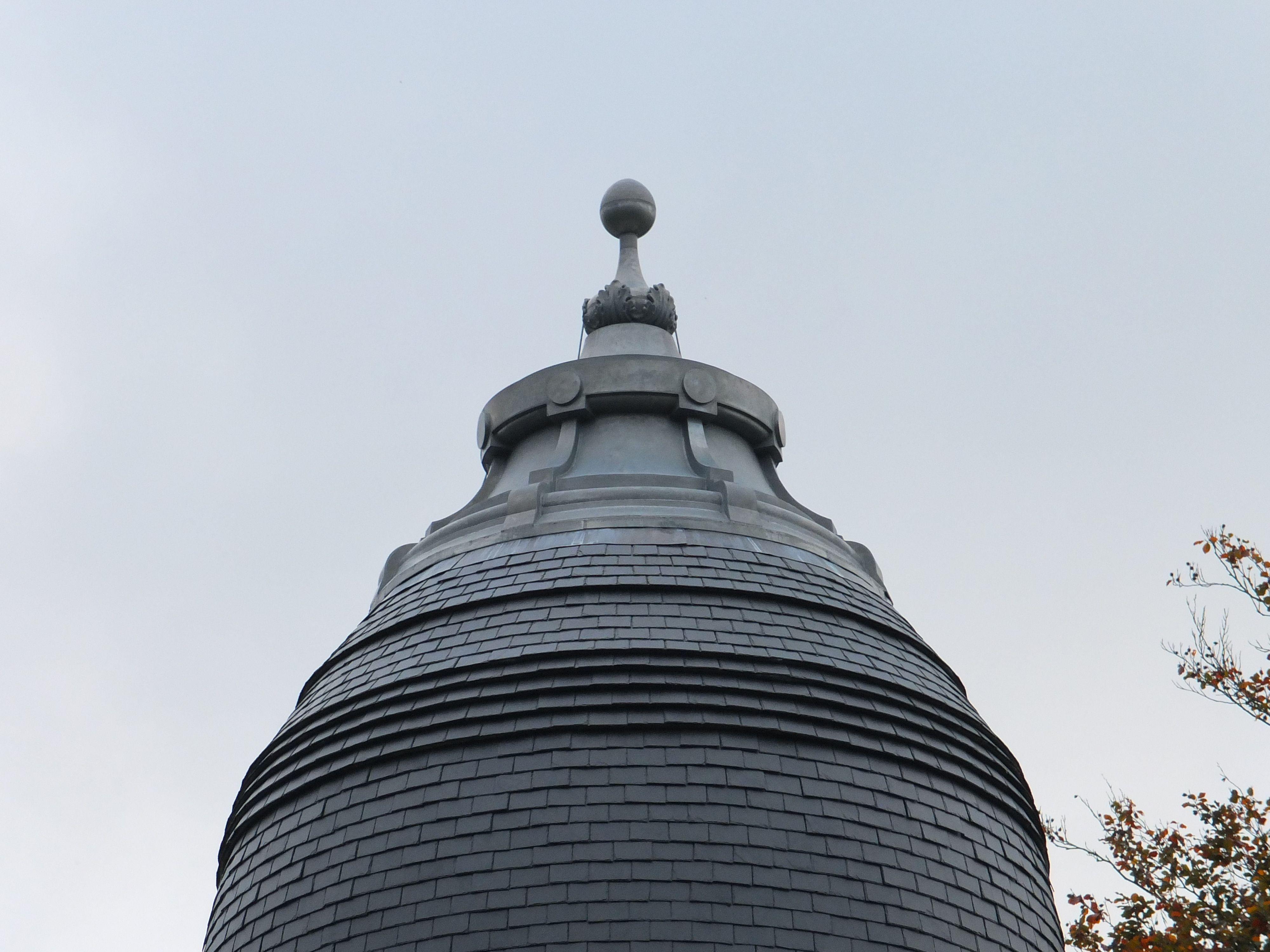 Zinc Dome Belgium Zinc Vmzinc Belgique Belgium Roofing Metal Ornament Dome Lamp Post