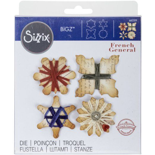 Sizzix Bigz Die, Thread Winders by French General