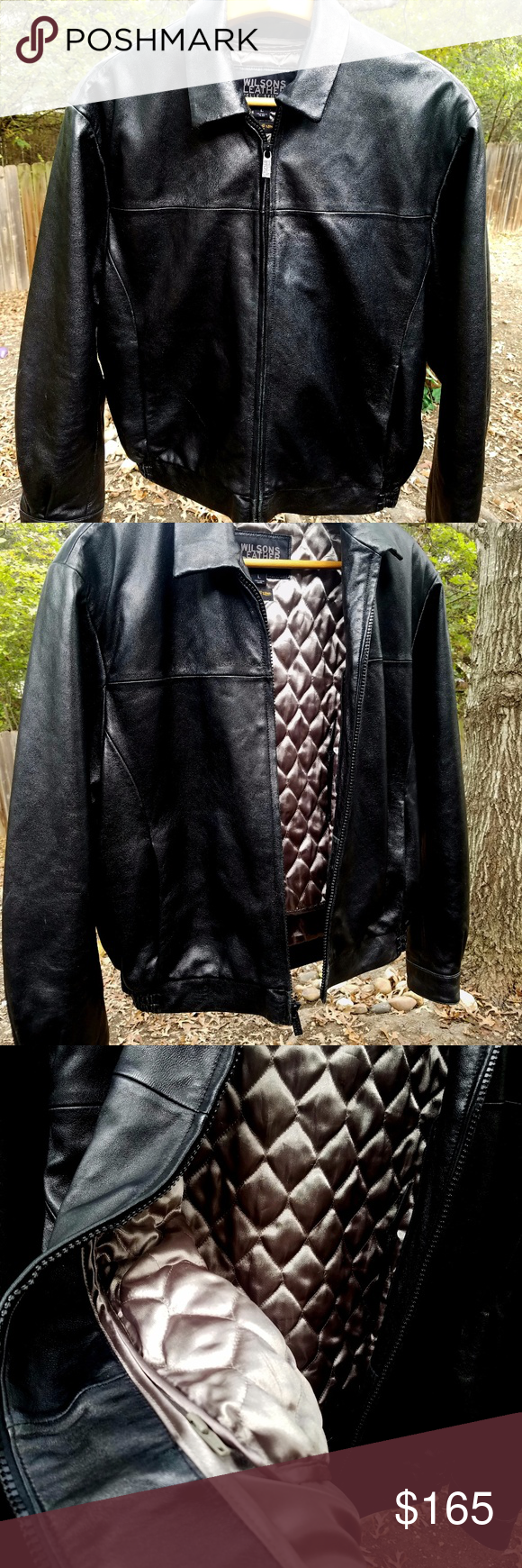 SALE EUC Men's Wilson Leather Pelle Jacket (With images