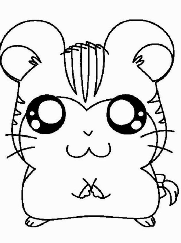 Cute Hamster Coloring Pages Animal Coloring Pages Cute Coloring Pages Mickey Mouse Coloring Pages