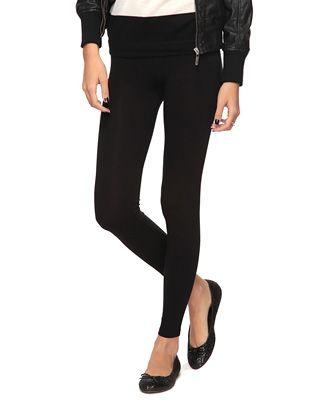 Black ankle length leggings @ Forever 21...only $ 5.80!!! Colors in stock=black, plum, gray, pink, and apricot!