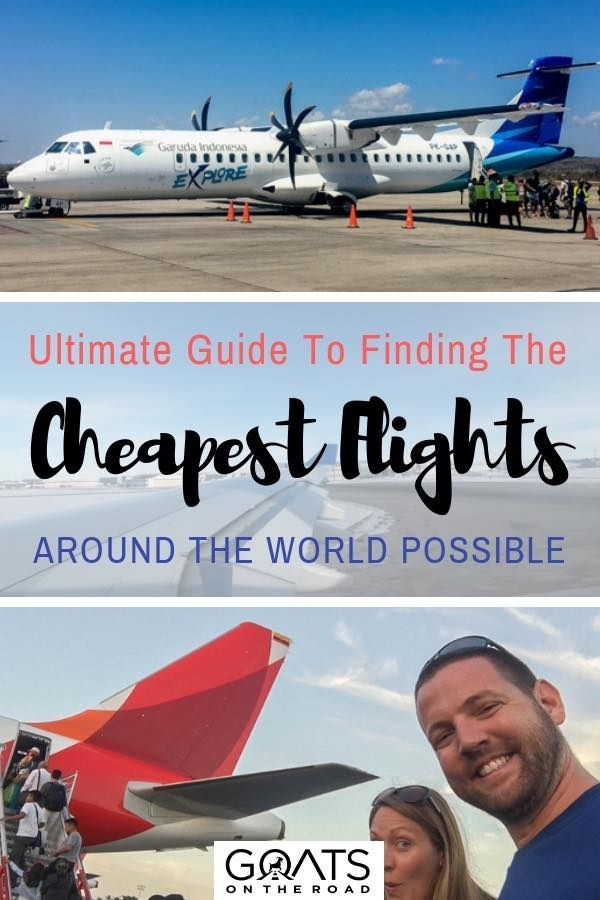 Fly for cheap with this simple & easy guide to scoring airline deals - click through to find your next dream vacation | #budgettravel #traveltips #bestintravel #backpacker #wanderlust #flyforcheap #adventure #nextvacation #vacationinspiration #honeymoon #airfaredeals #savemoney #frugaltravel #traveltheworld #travelertips