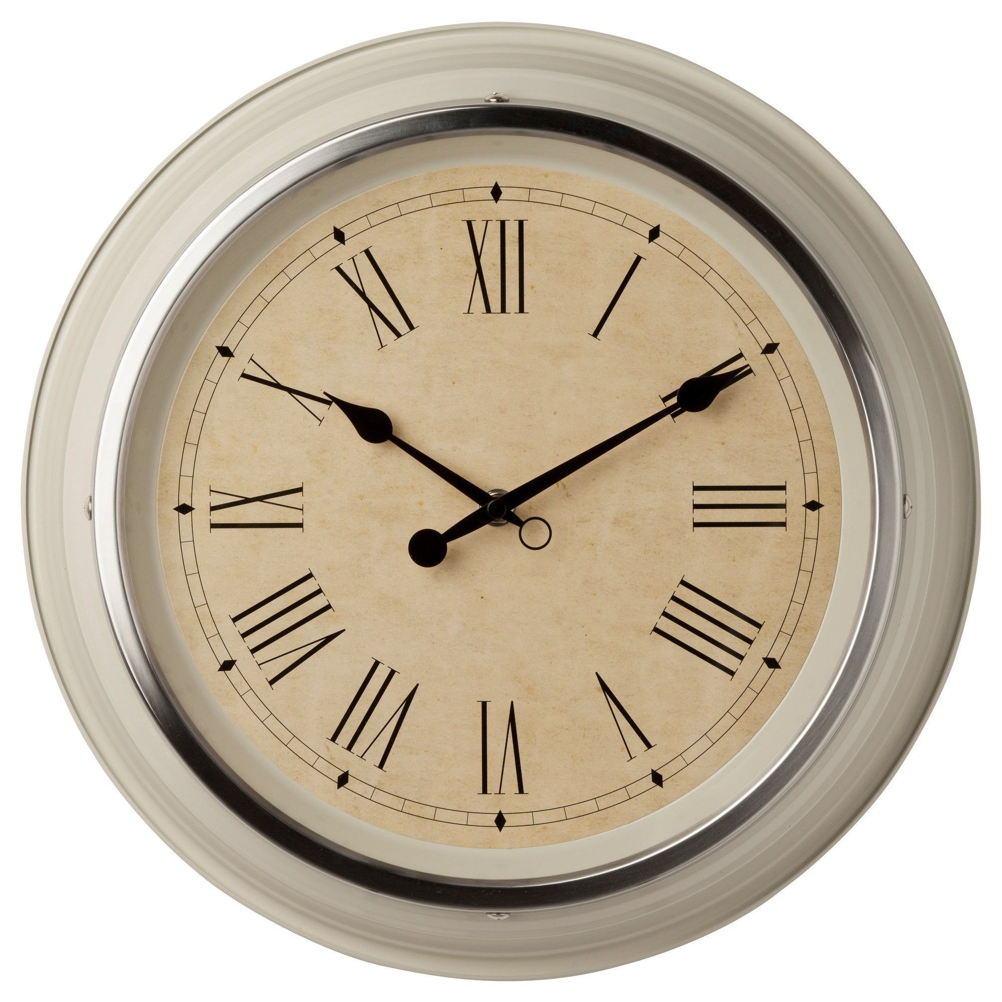 Skovel Wall Clock Ikea Fits Inside The Wall Stickers For The