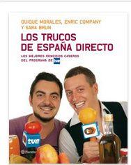 Los Trucos De España Directo Libro De Cocina Libros De Recetas Trucos