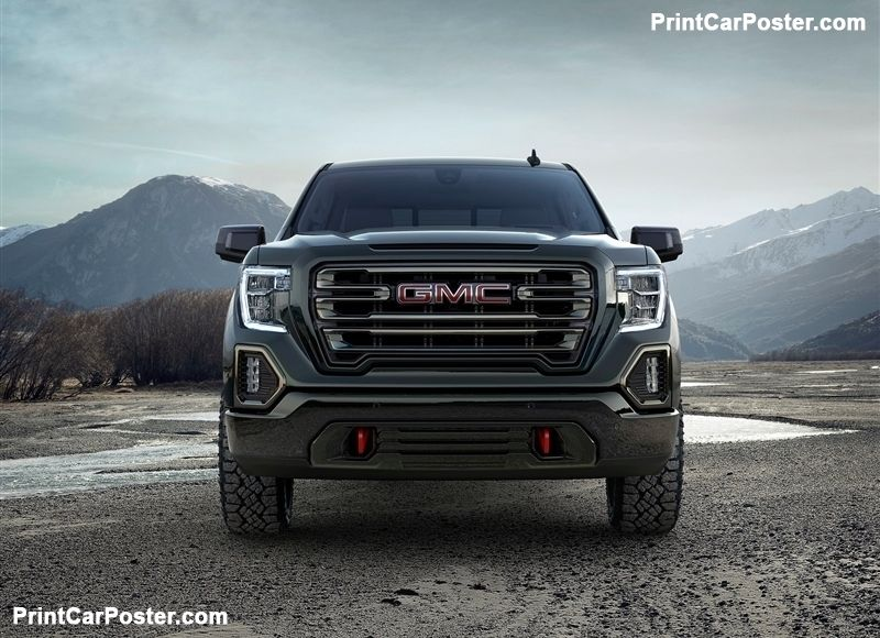 Gmc Sierra At4 2019 Poster Gmc Trucks Gmc Sierra Chevy Trucks