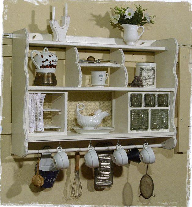 ansolece bietet hier ein wundersch nes gro es schweres regal mit eierfach und sch ttenteil. Black Bedroom Furniture Sets. Home Design Ideas