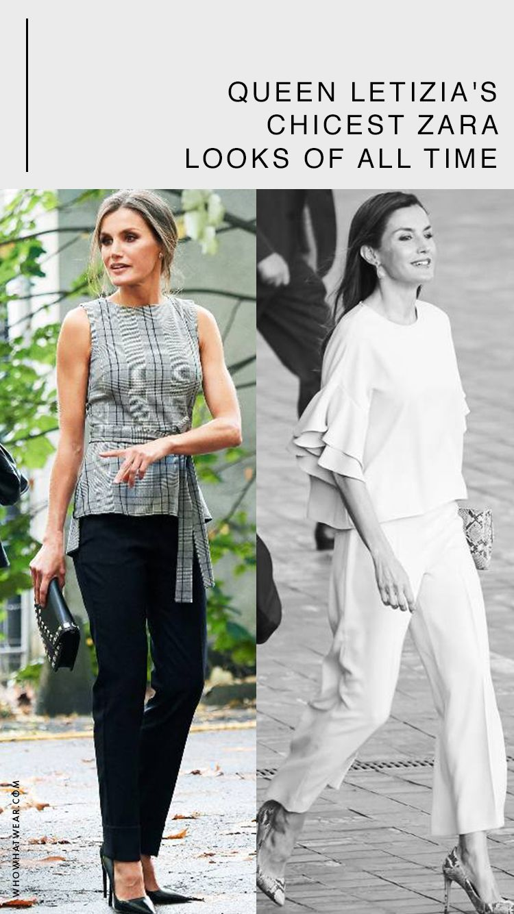 090a0436189 Queen Letizia s Chicest Zara Looks of All Time in 2019