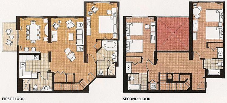 Saratoga Springs Three Bedroom Grand Villa: ~$4400 For 4